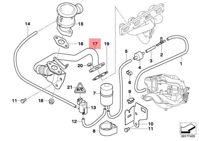 Bmw E46 Air Intake Diagram - Wiring Diagrams Place