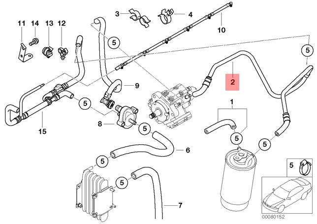 bmw fuel pump diagram genuine bmw e46 sedan wagon fuel feed line oem 13537787543 ebay  genuine bmw e46 sedan wagon fuel feed