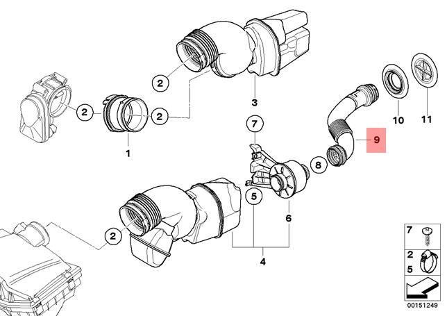 details about genuine bmw e86 coupe sound conducting medium oem 13717560280