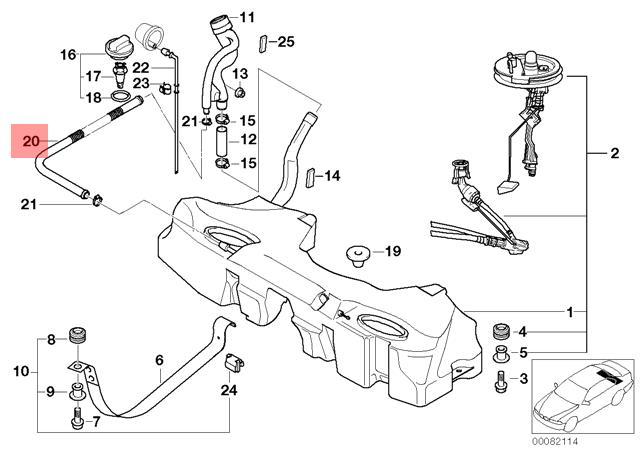 Genuine Bmw E38 E39 Sedan Pressure Testing Test Instructions Oem