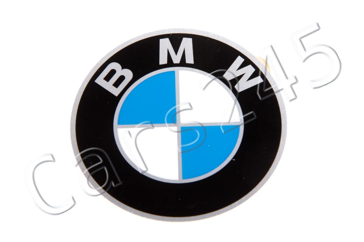 GENUINE OEM BMW E12 E3 E9 Wheel Center Hub Emblem Badges 4pcs 60mm 36131181105
