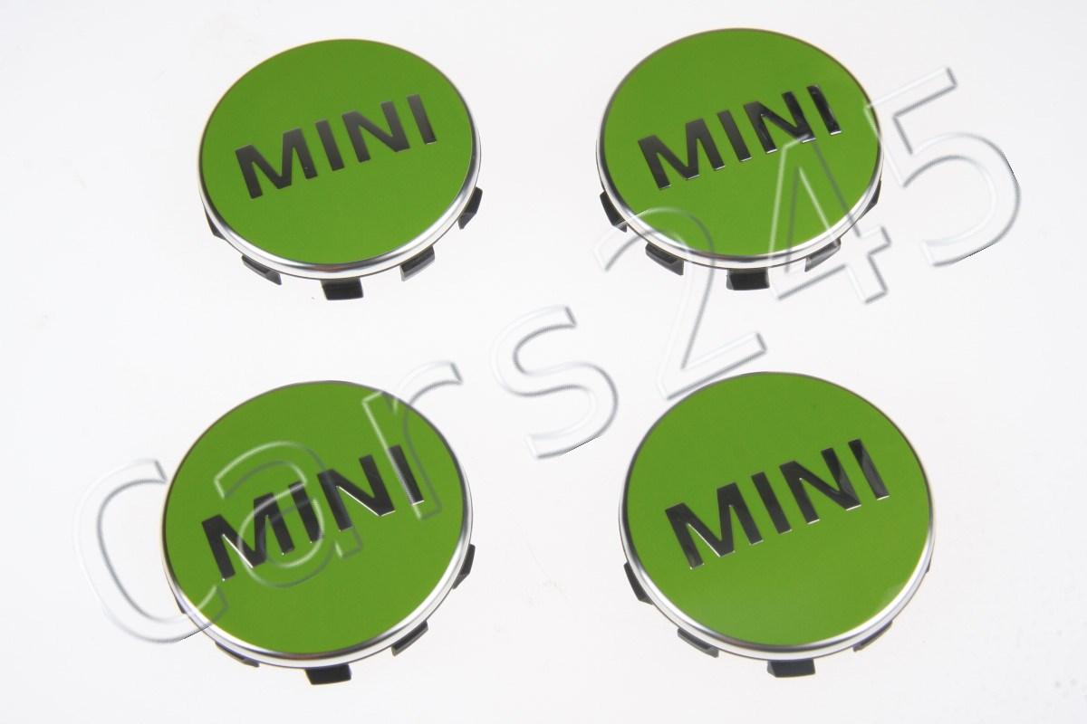 1x NEW GENUINE BMW MINI APPLE GREEN CENTRE CAP 2354150 F54 F55 F56 F57 F60