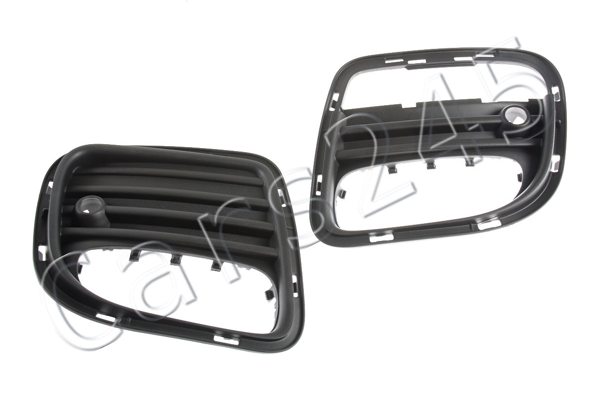 MINI Genuine JCW Black Right Rear Bumper Grid R56 R57 R58 R59 51120413568