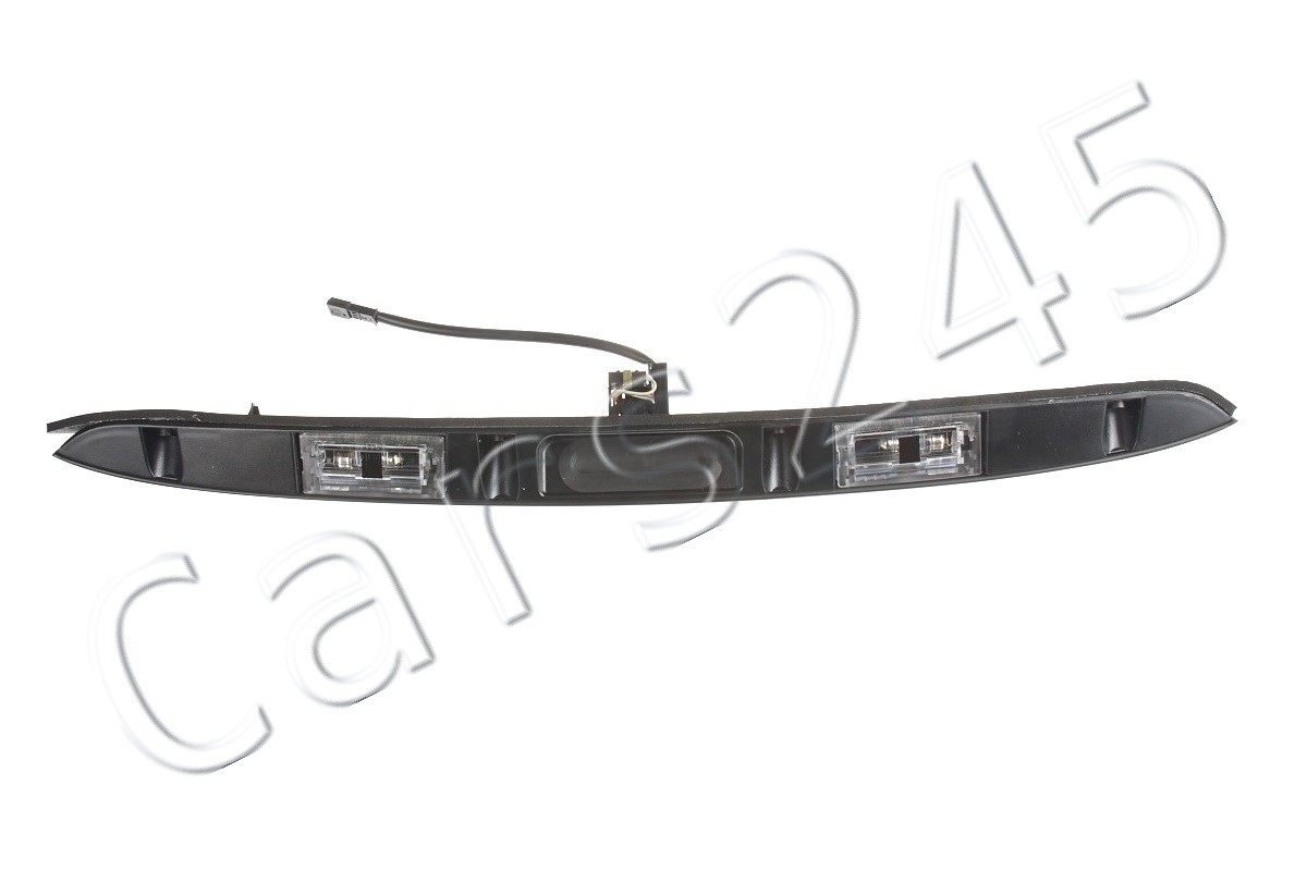 Key Button Rear Lift Handle Black OEM 51137171699 Genuine BMW Trunk Lid Grip