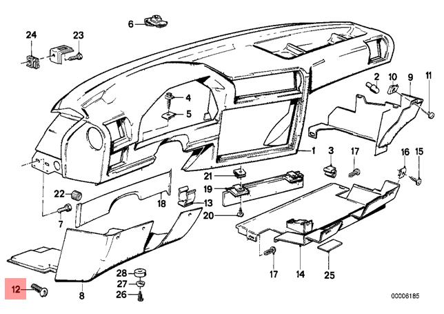 genuine interior lock screw x5 pcs bmw m3 e30 316 316i 318i 318is E30 M3 1985 pictures