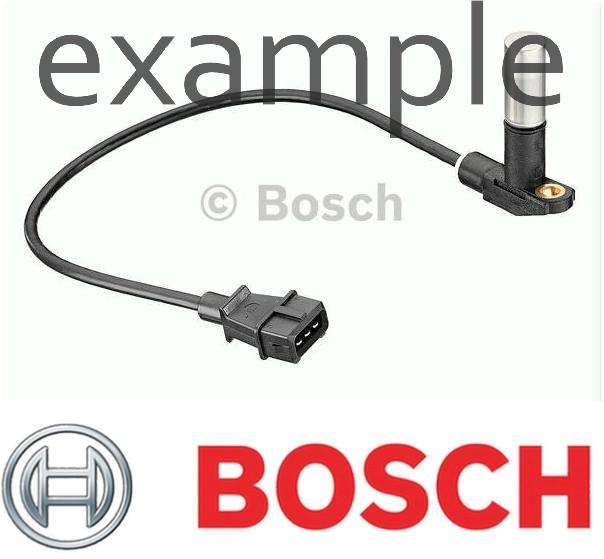 OPEL Astra G H BOSCH Crankshaft Position Sensor 1.7L 2003