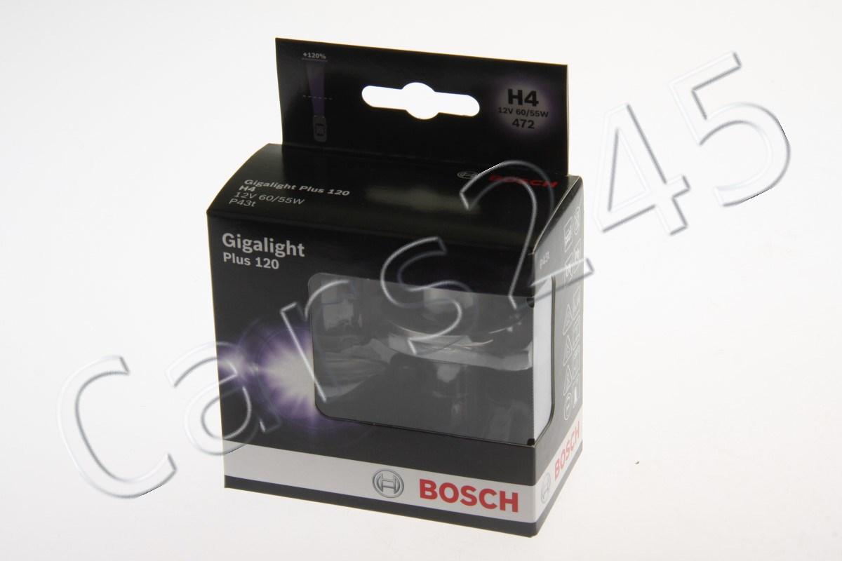 h4 headlight halogen bulbs 2pcs 12v 60 55w gigalight plus. Black Bedroom Furniture Sets. Home Design Ideas