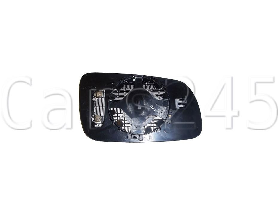 Side Mirror Glass Heated Blue Convex RIGHT Fits AUDI A4 B5 8D 1994-1999
