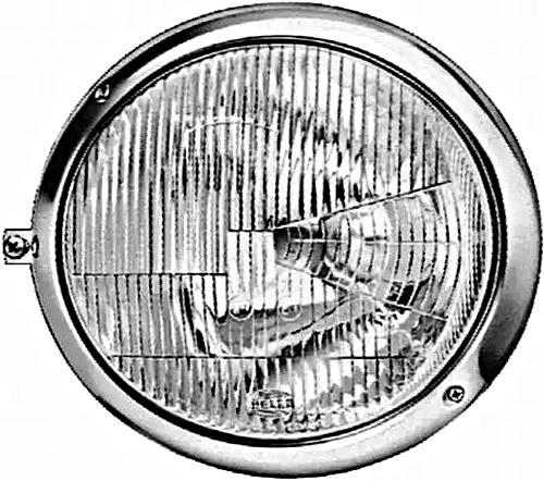 Hella Headlight Right 12v Fits Mercedes Agl 67 01 1a8001149 341