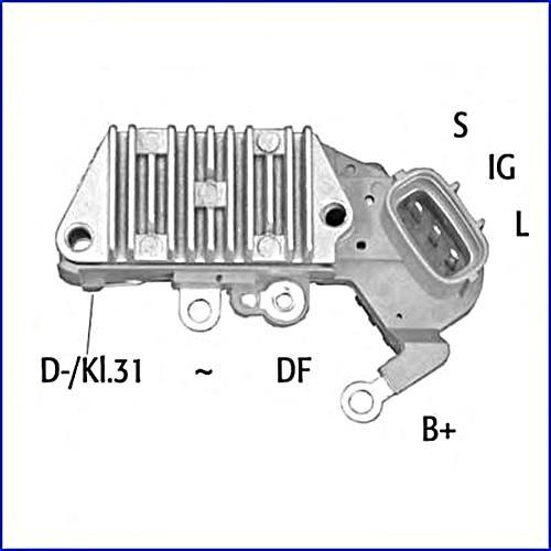 Huco Alternator Voltage Regulator 14v Fits Lexus Es Toyota