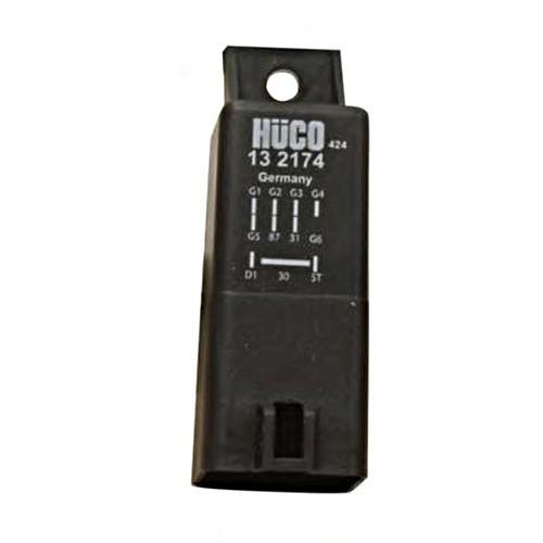 HUCO Relay For Glow Plug Diesel 12V Fits VOLVO S60 V70