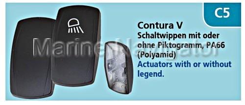 CARLING Contura II Schaltwippe Druckwasserpumpe °°