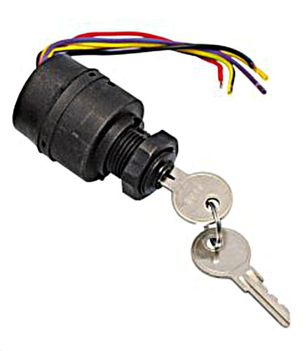 """Ignition Starter Switch 4 Positions 12V €/""""ACC-Off-Ignition-Start//Choke/"""""""