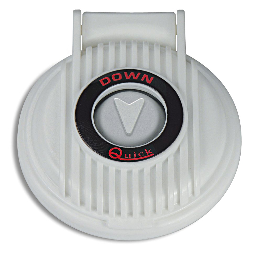 QUICK Anchor Windlass Safety Foot Up Switch White//Red//White