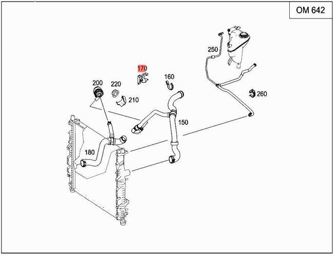 Details about Genuine Mercedes Line Holder W251 V251 W164 X164 0009959377