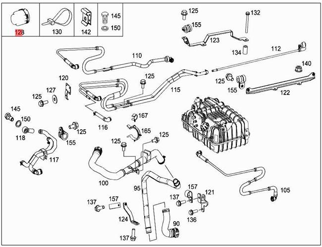 W113 Mercedes Benz Engine Diagram