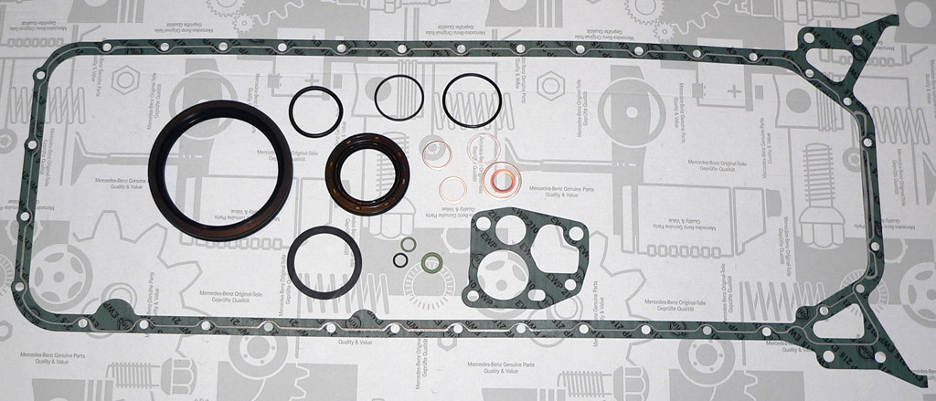 Mercedes CRANKCASE GASKET GOETZE OEM Quality 1160102606