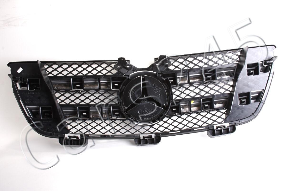Auto-Frontgitter vorne Gittergrill Grill For Autozubeh/ör-Benz GL-Klasse X164 GL320 GL450 GL350 2007-2012 Chrom Silber GTR Stil Front-Grill Grille Ersatz-Auto-Frontgitter Gloss Grill Gloss