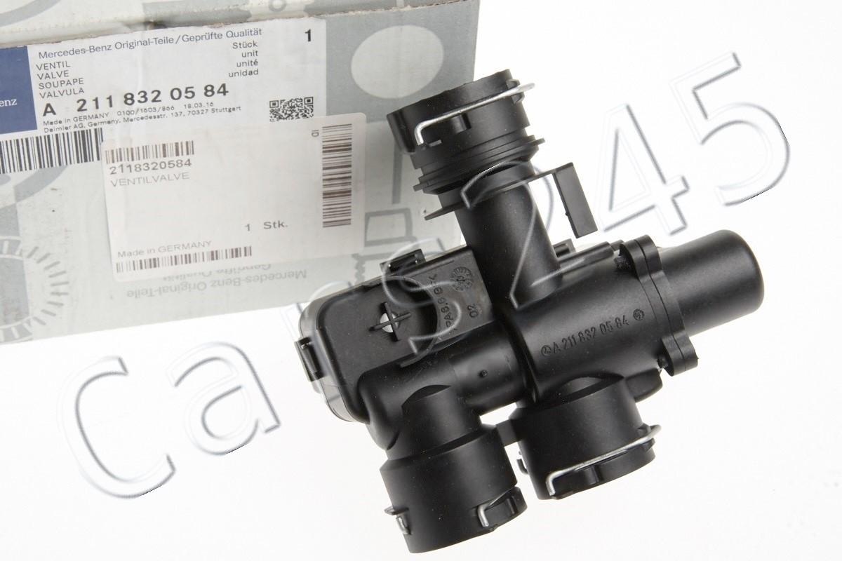 NEW OEM Genuine MERCEDES CLS E-Class W211 W219 2003-2009 Heater Control Valve