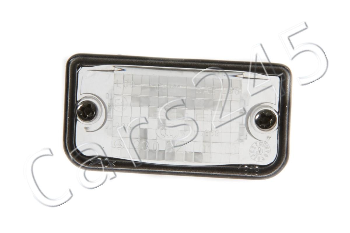 Mercedes Benz SL550 SL63 License Plate Lamp Lens BRAND NEW GENUINE 2308200166