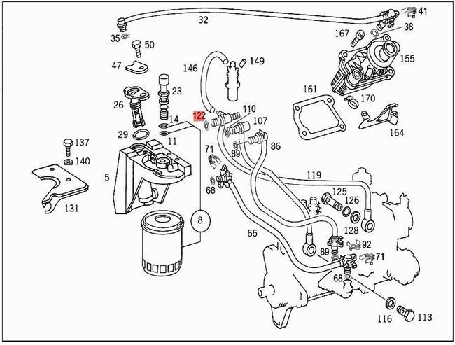 Dt466 Fuel System