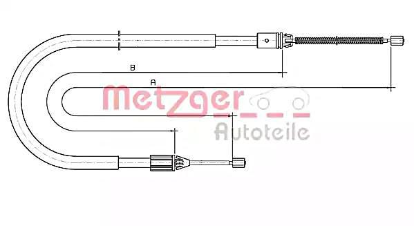 details about drum brake parking cable fits renault megane i 96-03  7700834651