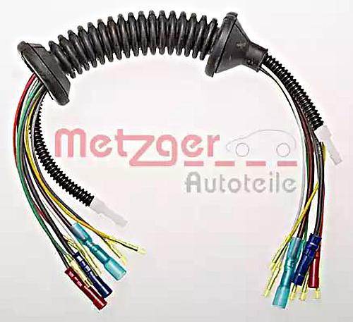 METZGER Cable Repair Kit Tail Gate Vehicle Tailgate For