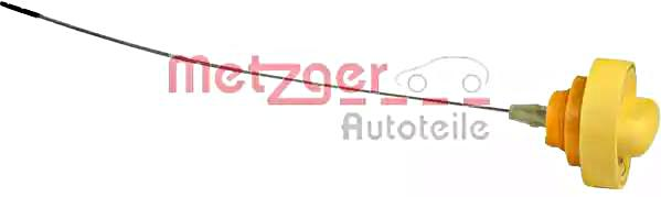 METZGER Oil Dipstick For RENAULT DACIA Clio Grandtour II III Box IV 8200049622