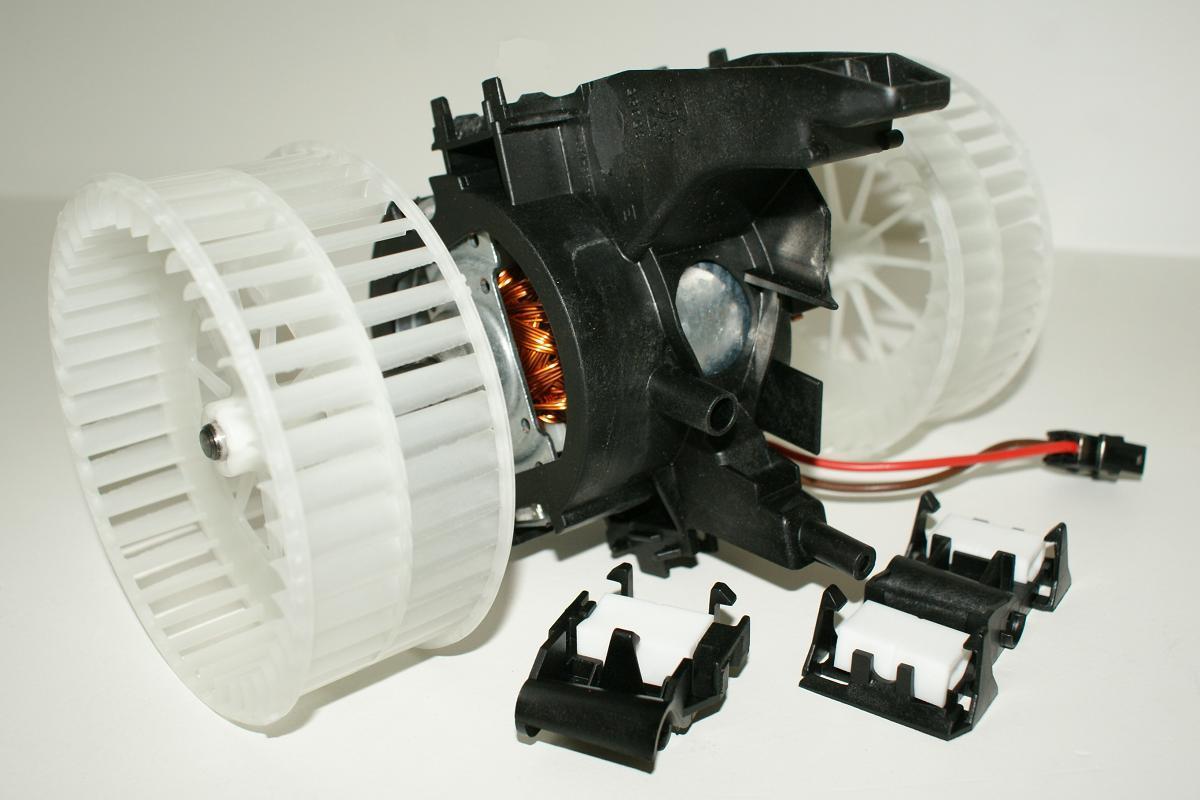 bmw 5 6 series e60 e61 e63 e64 2003 ac heater fan blower motor oem hella behr ebay. Black Bedroom Furniture Sets. Home Design Ideas