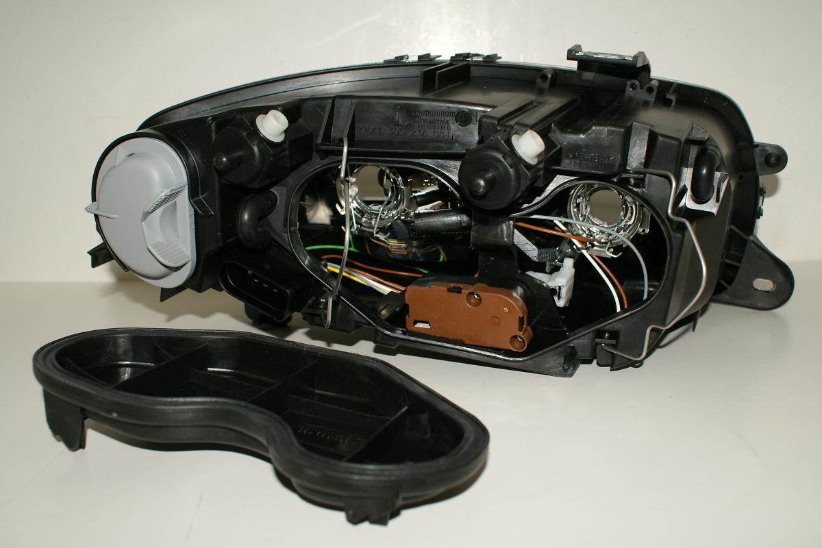 details about alfa romeo gt headlight left head lamp h7 h1 04
