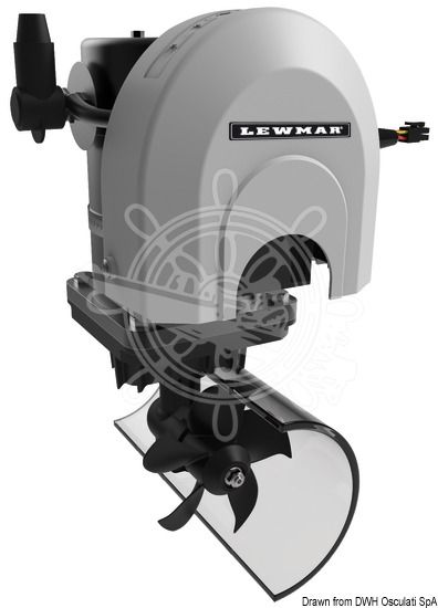 lewmar marine boat bow thruster kit w control panel cable. Black Bedroom Furniture Sets. Home Design Ideas
