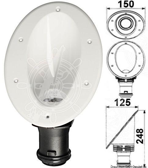 Osculati Ip67 Flush Mount Fairing Led Light 10w