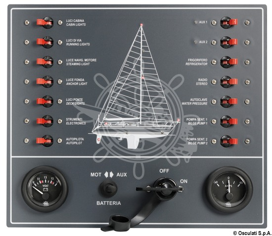 Osculati Sail Yacht 14 Switch Automatic Thermo Magnetic