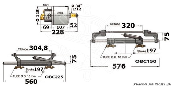 Nur Pumpe Vetus Htp4210r Marken Vetus 45.085.13 Bootsport