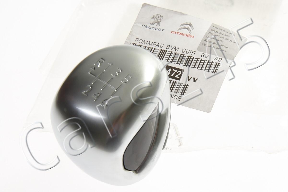 Genuine Peugeot RCZ 208 308 2008 5008 3008 407 GTI R Chrome 6 Speed Gear Knob