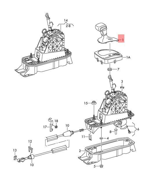 Toyota 4runner Shift Boot