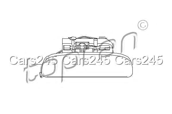 Citroen Saxo Peugeot 106 II 2 Left Front Door Handle 1.0-1.6L 1996