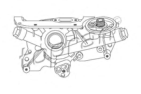 Engine Oil Pump Fits OPEL Astra H Gtc G Coupe Cabrio F67 2 ...