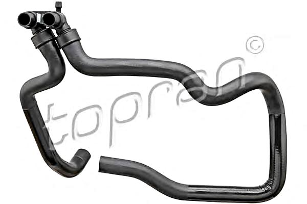 radiator coolant hose fits citroen berlingo xsara peugeot partner ranch 99