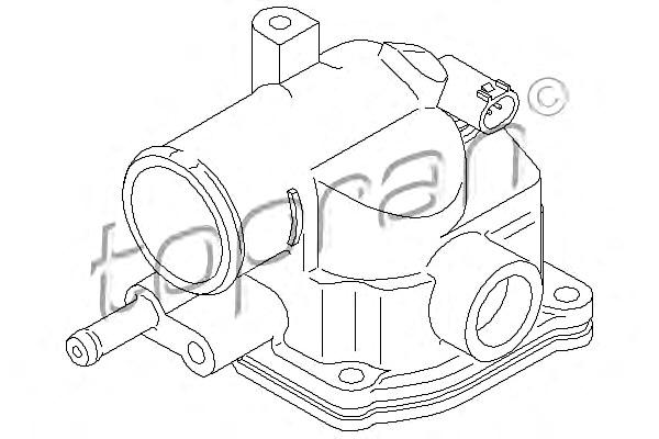 Tp Coolant Thermostat Fits Mercedes W211 W204 W203 S211 S203 Cl203