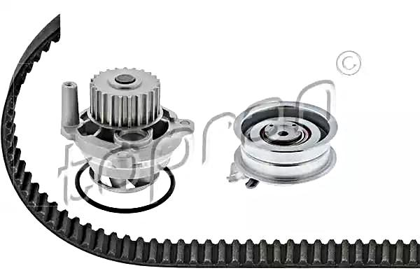 tp water pump   timing belt kit fits audi a4 seat skoda vw