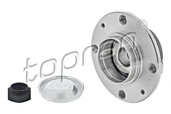 Citroen C2 1.6 VTS Genuine Comline Rear Wheel Bearing Hub Assembly Kit