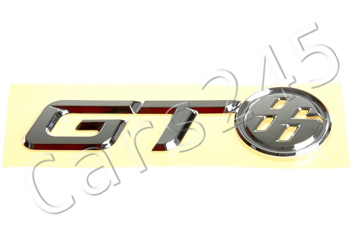 Genuine TOYOTA 86 GT86 SCION FR-S FRS Rear Emblem Trunk Badge PZ443-10010-00