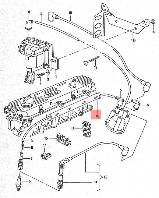 1987 Audi 4000 Wiring