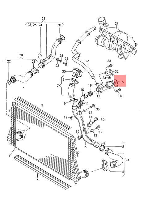 Genuine Cut Off Valve Audi Vw A3 S3 Sportback Lim Quattro