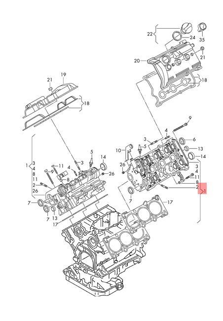 Genuine Vw Cylinder Head With Valves Nos Audi Vw A4 Avant S4