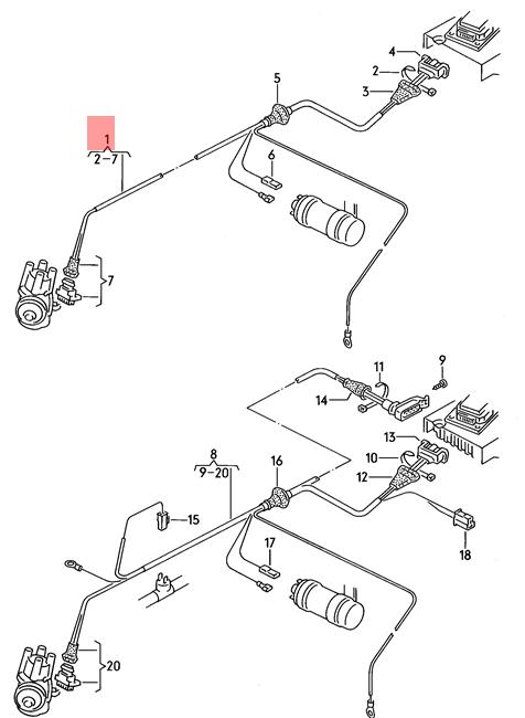 Ignition System Wiring Harness