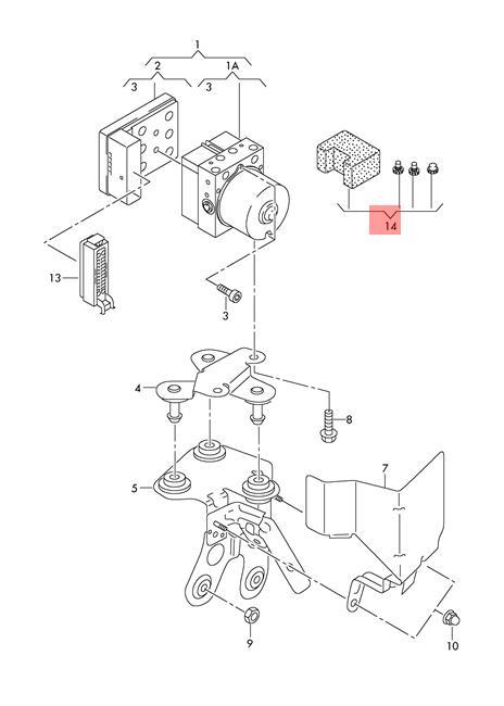 Genuine 1 Set Assembly Parts Audi Vw 1h0698311a