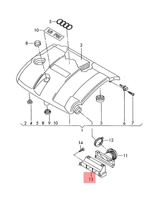 Details About Genuine Air Guide Channel Vw Seat Audi Skoda Bora Ctrek Eos Golf 1k08059719b9: Vw Bora Engine Diagram At Johnprice.co