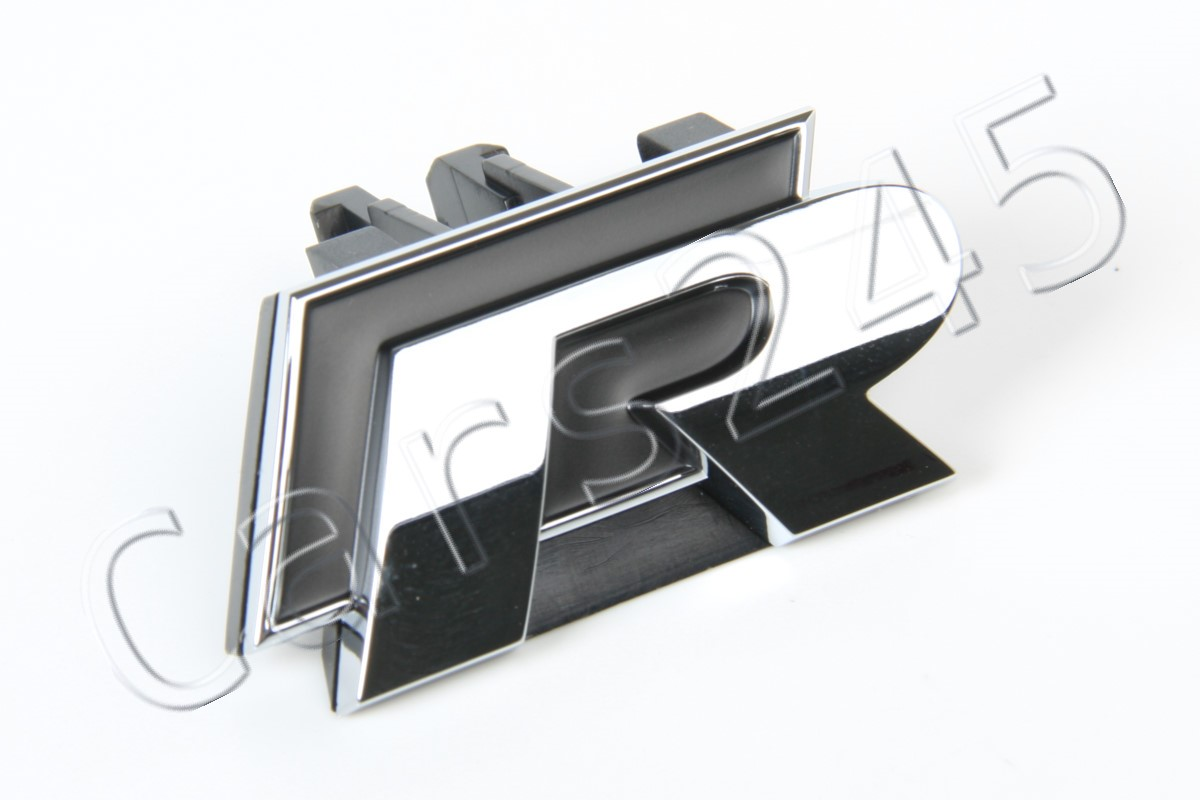 1K8853679B FXC Genuine VW R LINE Front Grill Badge Emblem Chrome